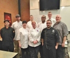 Aramark is pleased to announce the graduation of 17 chefs from the prestigious ProChef® Certification program at The Culinary Institute of America. These Aramark chefs create the menus for and serve colleges, universities, preparatory schools, stadiums and convention centers across the United States and Canada, and join the 250 Aramark chefs who have received their ProChef certification, since Aramark first enrolled in the CIA's ProChef program in 2008. (Photo: Business Wire)