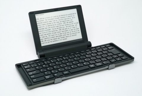 King Jim and E Ink unveil the Pomera DM30 digital typewriter (Photo: Business Wire)