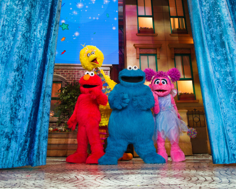 Elmo, Cookie Monster, Abby Cadabby and Big Bird star in Sesame Street Live! Make Your Magic. (Photo: Business Wire)