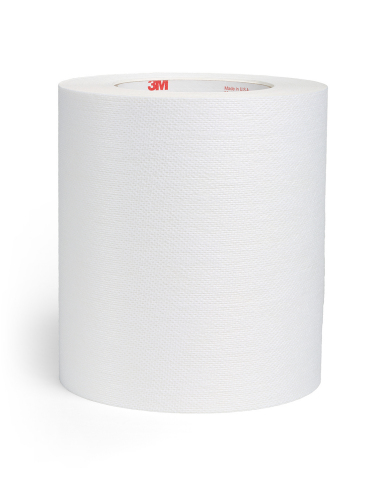 3M™ Single Coated Medical Extended Wear Adhesive Nonwoven Tape on Liner (3M™ 4077) is a pressure sensitive adhesive offering omni-directional stretch for superior conformability and breathability. (Photo: Business Wire)