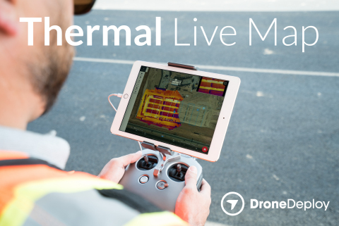 Thermal Live Map visualizes temperature range variability and creates instant thermal maps for quick, data-guided decisions on the job site. (Photo: Business Wire)