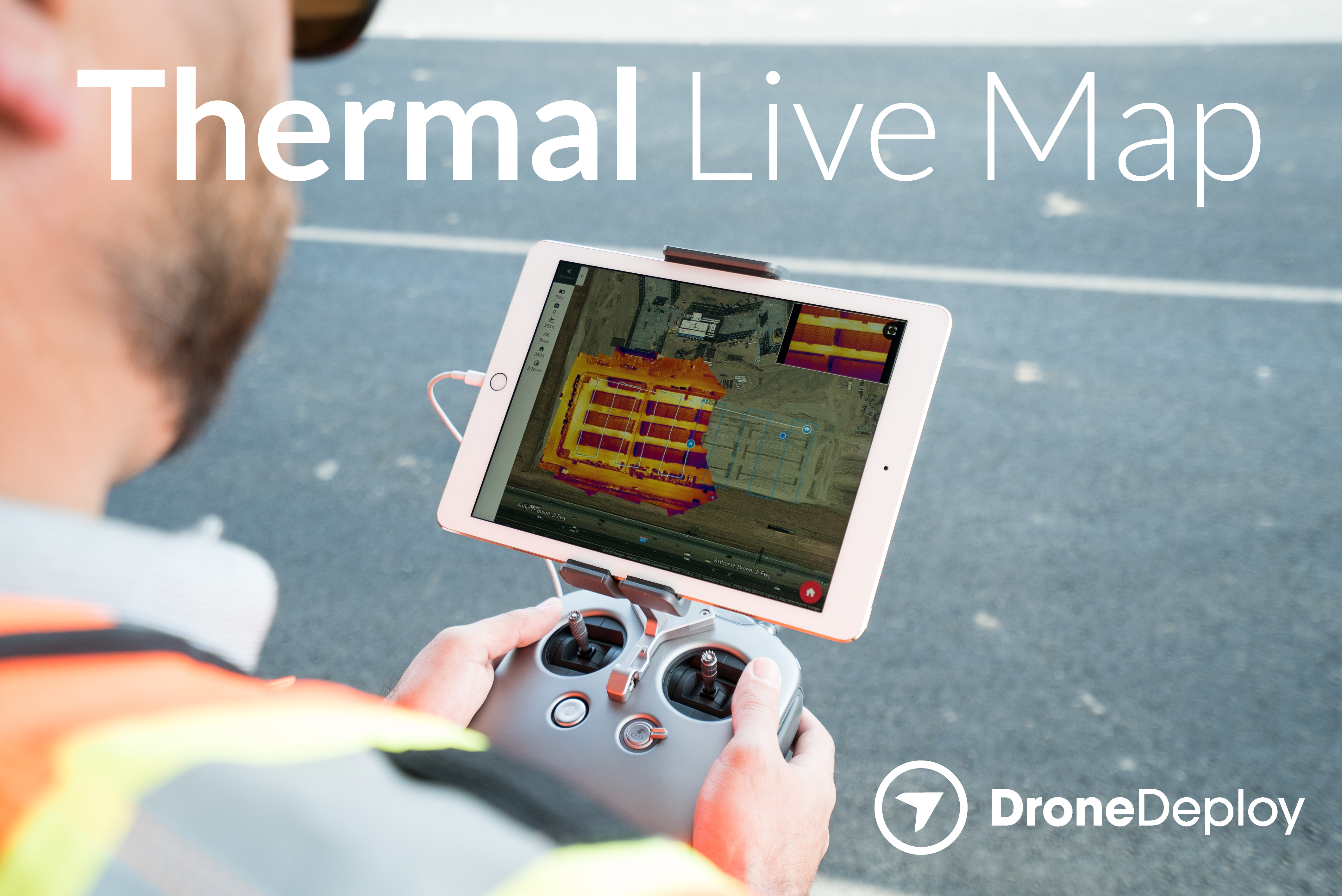 DroneDeploy Releases World\'s First Real-Time Thermal Mapping ...