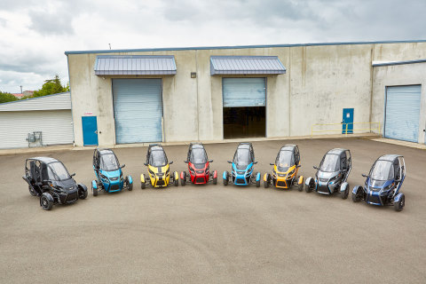Arcimoto announced production of their Signature Series FUVs. (Photo: Business Wire)