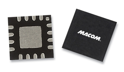 The single-ended, internally-matched MADT-011000 consumes 70 µA from a 4.5 V supply, while the matched detector and reference diodes provide temperature compensation in differential operation. The MADT-011000 is offered in both a 3 mm 16-lead QFN package and in bare die format, with ESD protection for reliability and ease of handling. (Photo: Business Wire)