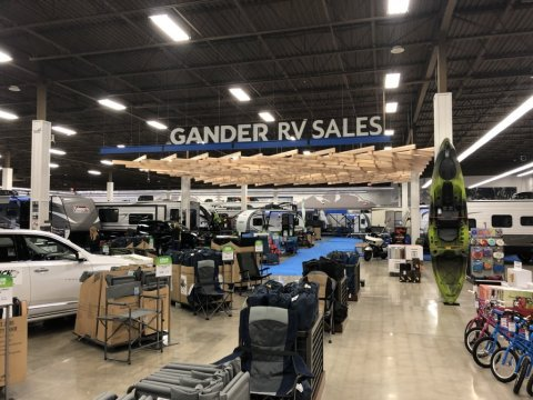 The first Gander RV Sales location. (Photo: Business Wire)