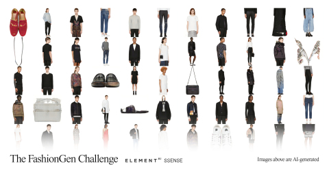 FashionGen Collection of Images (Graphic: Business Wire)