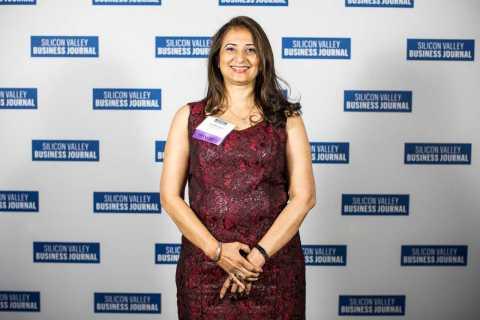 "Global Upside COO Gita Bhargava wins ""Women of Influence"" award (Photo: Business Wire)"