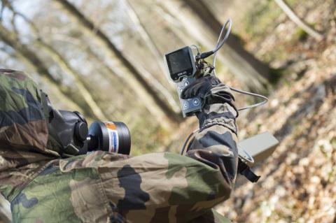 Le nouveau radiamètre multisondes SaphyRAD MS pour les forces armées. © Thomas Léaud