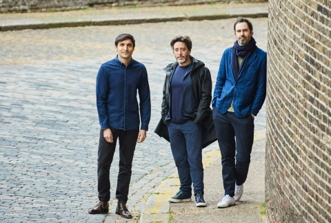Ajaz Ahmed, Jay Osgerby and Edward Barber today announce Universal Design Studio and Map Project Office will join AKQA, integrating experience, architecture and industrial design (Photo: Business Wire)