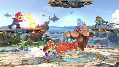 Super Smash Bros. Ultimate combines many stages and new items, with gameplay that makes it easy for players of all skill levels to jump in. (Photo: Business Wire)