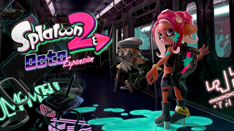The new Octo Expansion for Splatoon 2 launches on the evening of Wednesday, June 13. This first paid DLC for Splatoon 2 adds a new single-player mode that features 80+ missions, new stories and the ability to play as an Octoling for the first time. (Graphic: Business Wire)