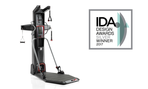 The Bowflex® HVT® machine earns the IDA Silver Award in the Outdoor & Exercise Equipment category. (Photo: Business Wire)