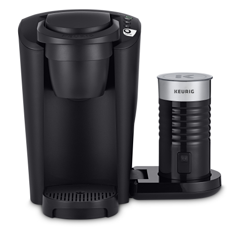 Keurig® K-Latte™ Single Serve Coffee & Latte Maker in Matte Black is available exclusively at Walmart online June 18 and in stores in late June. (Photo: Business Wire)