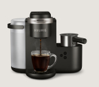 Keurig® K-Café™ Single Serve Coffee, Latte, & Cappuccino Maker in Dark Charcoal is available exclusively at Amazon.com. (Photo: Business Wire)