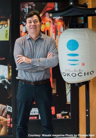 Frank Clark, CEO of Waikiki Yokocho (Courtesy: Wasabi magazine Photo by Phoebe Neel)