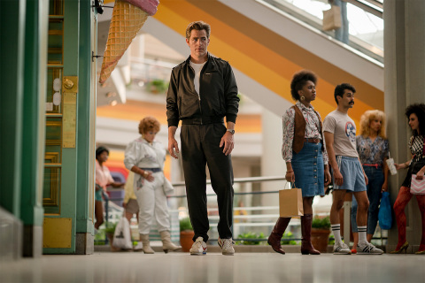 CHRIS PINE in WONDER WOMAN 1984, a Warner Bros. Pictures release (Photo: Business Wire)