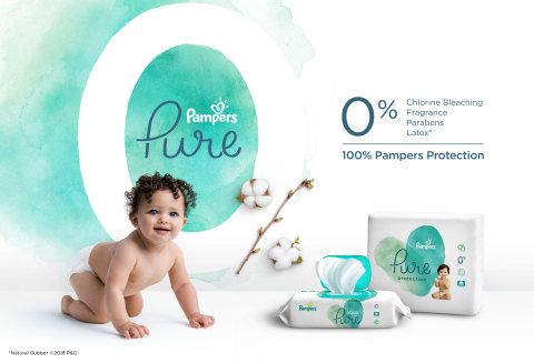 Pampers Pure Collection (Graphic: Business Wire)