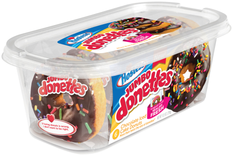 Hostess® Jumbo Donettes® - Chocolate Iced with Sprinkles (Photo: Business Wire)