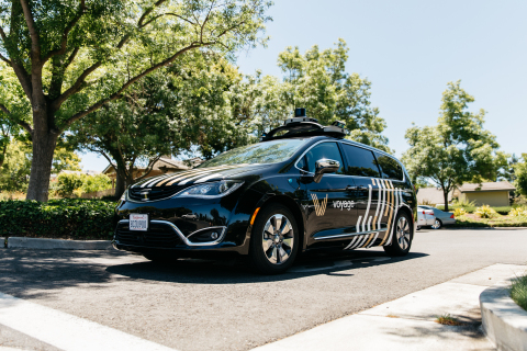 Voyage and Velodyne have collaborated to adorn Enterprise lease vehicles with the new VLS-128 LiDAR sensors. (Photo: Business Wire)
