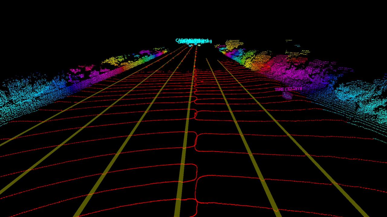 Demo of Luminar's perception development platform