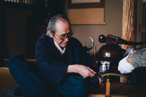 """""""IS JAPAN COOL?"""" - """"CRAFTSMANSHIP"""": Japanese armor-maker (Photo: Business Wire)"""
