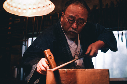 """""""IS JAPAN COOL?"""" - """"CRAFTSMANSHIP"""": Japanese swordsmith (Photo: Business Wire)"""