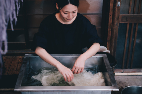"""IS JAPAN COOL?"" - ""CRAFTSMANSHIP"": Artisan of Japanese dyeing (Photo: Business Wire)"