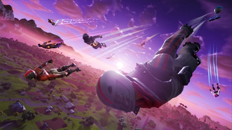 Jump in to be the last one standing in the free-to-start 100-player Battle Royale. (Photo: Business Wire)
