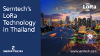 Semtech's LoRa Technology in Thailand (Graphic: Business Wire)