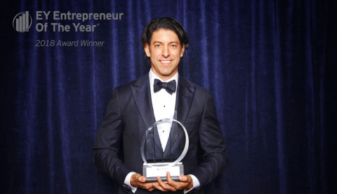 Patrick Walsh, EY Entrepreneur Of The Year(R) 2018 New York Award Winner (Photo: Business Wire)