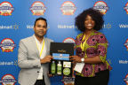 SheaOlein representatives from Baltimore, MD pose with their natural skincare products. (Photo: Business Wire)