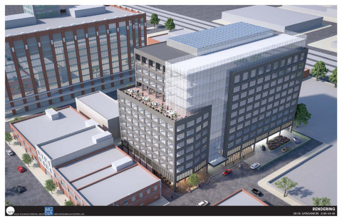 Developed by Mark Goodman & Associates, 310 N. Sangamon will be the largest Passive House office building in the U.S. The building will be located around the corner from Google's new Midwest headquarters in Chicago's West Loop. (Photo: Business Wire)