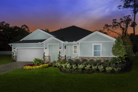 New KB homes now available in Mandarin. (Photo: Business Wire)