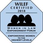 2018 WILEF Gold Standard Certification. (Logo: Women in Law Empowerment Forum)