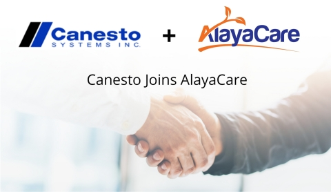 Canesto joins AlayaCare (Photo: Business Wire)