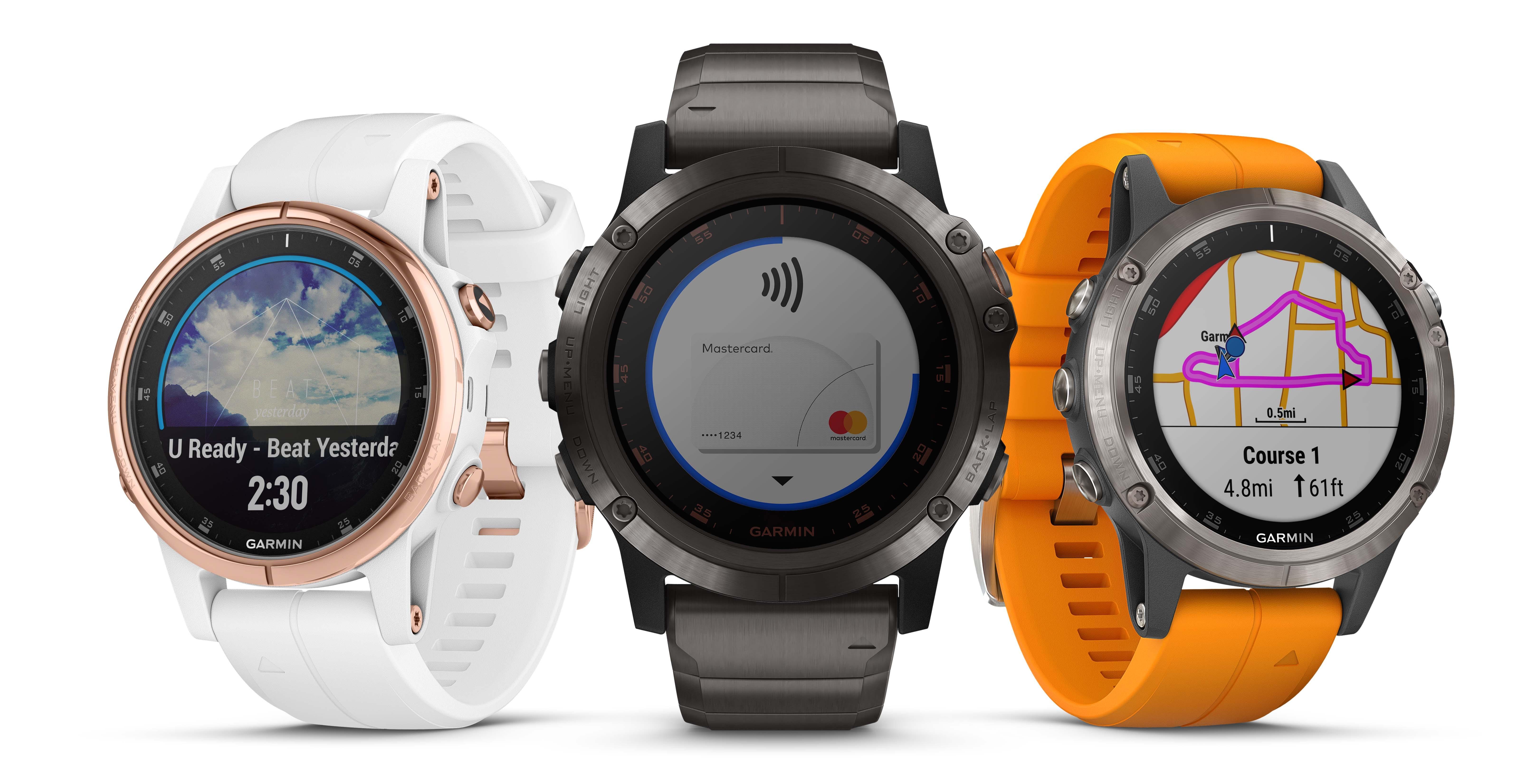 Garmin® debuts the fēnix® 5 Plus, adds maps, music, Garmin Pay and ...