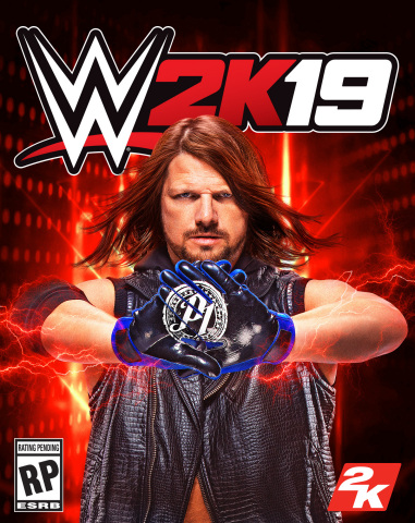 2K today announced AJ Styles® as the cover Superstar for WWE® 2K19, the forthcoming release in the f ...