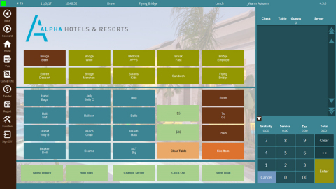 New Modern User Interface for InfoGenesis POS (Photo: Business Wire)
