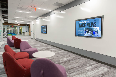 Booz Allen's new iHub in Central Maryland (Photo: Business Wire)