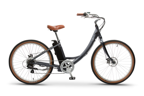 The new Sol e-cruiser designed with low step-through frame for comfort and style. (Photo: Business Wire)