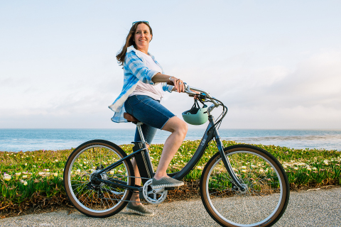 The new Sol e-cruiser features a smooth, quiet ride with Class 2 pedal assist for the toughest hills. (Photo: Business Wire)