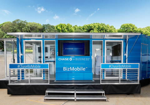 Chase is rolling out the BizMobile, a business advice center on wheels. (Photo: Business Wire)