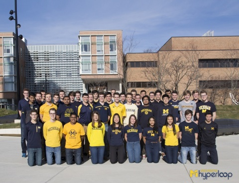 HEIDENHAIN is Proud to Support University of Michigan's Hyperloop Team (Photo: Business Wire)