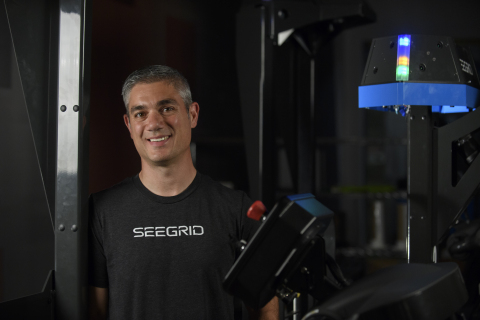 Seegrid Vice President of Engineering Sean Stetson (Photo: Business Wire)