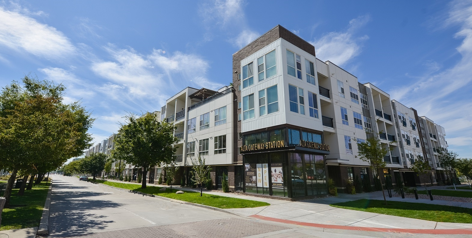 Alta Gateway Station Utah S First Apartment Building To Receive Leed Platinum Certification Business Wire