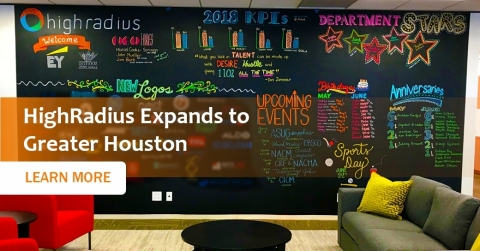HighRadius Expands to Greater Houston (Graphic: Business Wire)