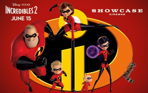 """Visit Showcase Cinemas to see """"Incredibles 2"""" as part of the new Sensory Sensitive Screenings program. (Graphic: Business Wire)"""