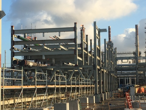 Marathon Petroleum Corporation's Tier 3 gasoline sulfur standard reconfiguration project at the Galveston Bay refinery in Texas City, Texas. (Photo: Business Wire)