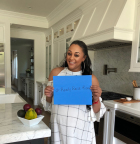 """Cooking healthy meals for my family helps me harness my unique inner power to rise up against cancer!"" - Tia Mowry, YouTube's ""Tia Mowry's Quick Fix"" (Photo: Business Wire)"