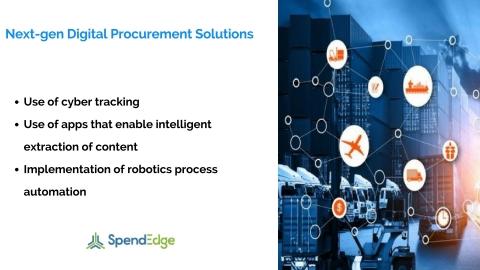 Next-gen Digital Procurement Solutions - A SpendEdge Whitepaper (Graphic: Business Wire)